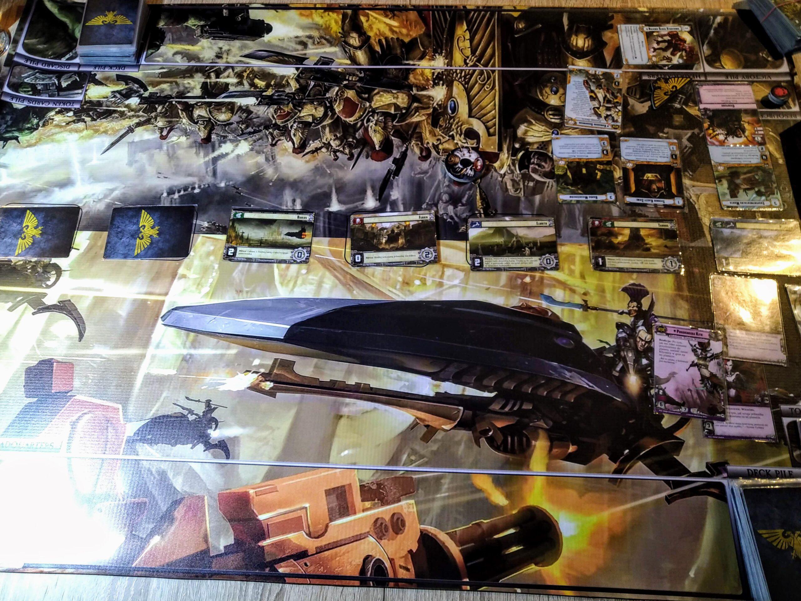 gramy - Warhammer 40 000: Podbój