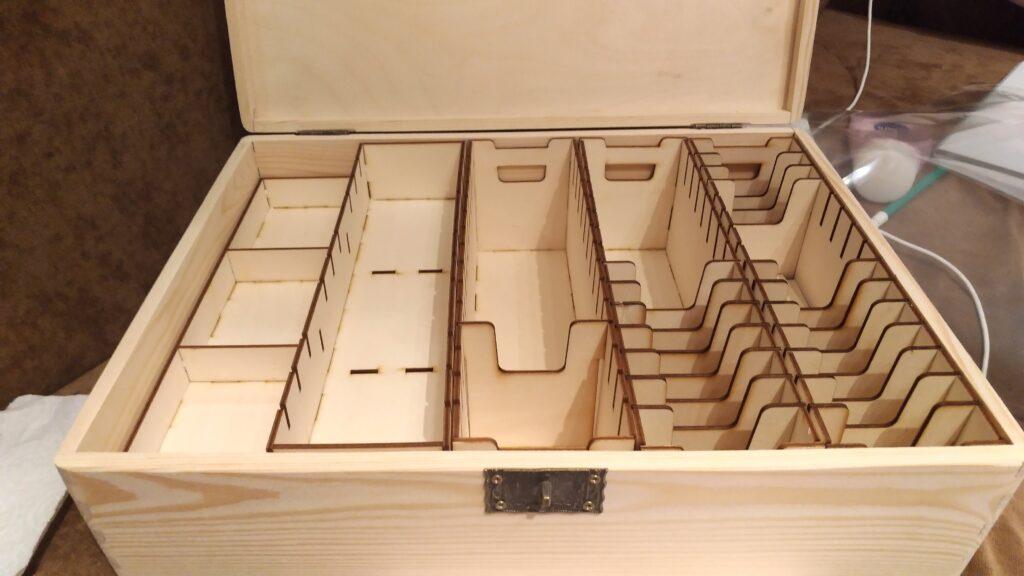 pudełko drewniane na grę Star Wars LCG